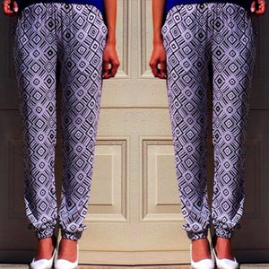 Vangelica - Diamond Print Pants - Dilux Designs