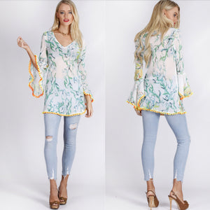 Spicy Sugar - Tropical Twist Kaftan - Dilux Designs