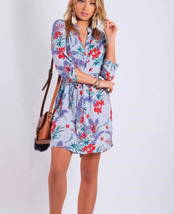 Spicy Sugar - Tropix Shirt Dress - Dilux Designs