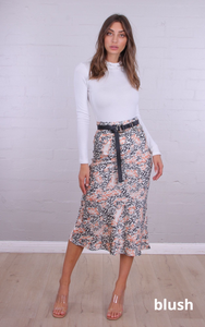 Rosebullet - Chantelle Sateen Midi Skirt