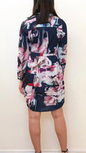 Spicy Sugar - Watercolour Abstract Print Shirt Dress