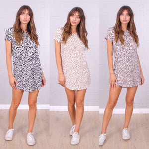 Back To Basics - Jungle Fever Tshirt Dress