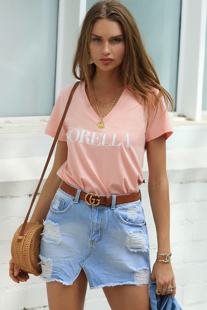 Refuge - Sorella V Neck Tee