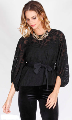 Spicy Sugar - Lilly Balloon Sleeve Blouse