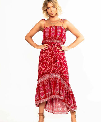 Pink Diamond - Iris Maxi Dress