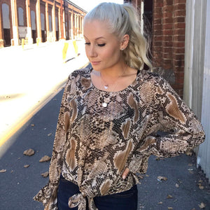 Spicy Sugar - Cobra Blouse