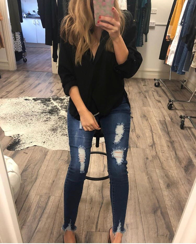 Wakee - Luna High Waisted Jeans