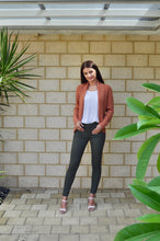 Wakee - High Waisted Khaki Jeans - Dilux Designs