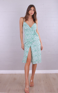 Whyte Valentine - Summer Fiesta - Midi Wrap Dress
