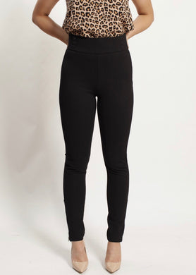 Spicy Sugar - High Waist Full Length Ponte Pant