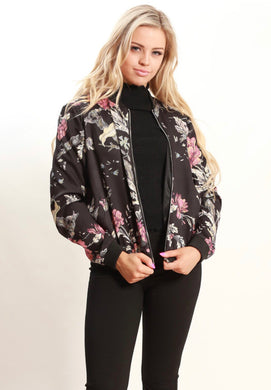 Spicy Sugar - Sakura Bomber Jacket