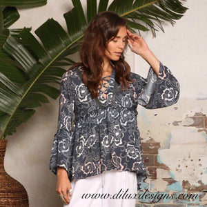 Label of Love - Woodstock Blouse - Dilux Designs
