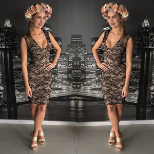 Fever - Lace Midi Dress - Dilux Designs