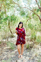 Here Comes The Sun - Flip Out Floral Dress - Dilux Designs