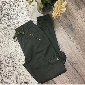 Wakee - Swagger Joggers - Khaki - Dilux Designs