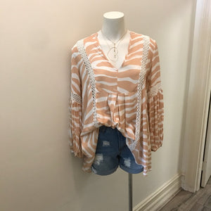Here Comes The Sun - Tabitha Blouse - Dilux Designs