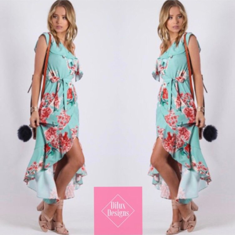Spicy Sugar - Vita Floral Dress - Dilux Designs