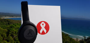 Beat Cancer Headphones