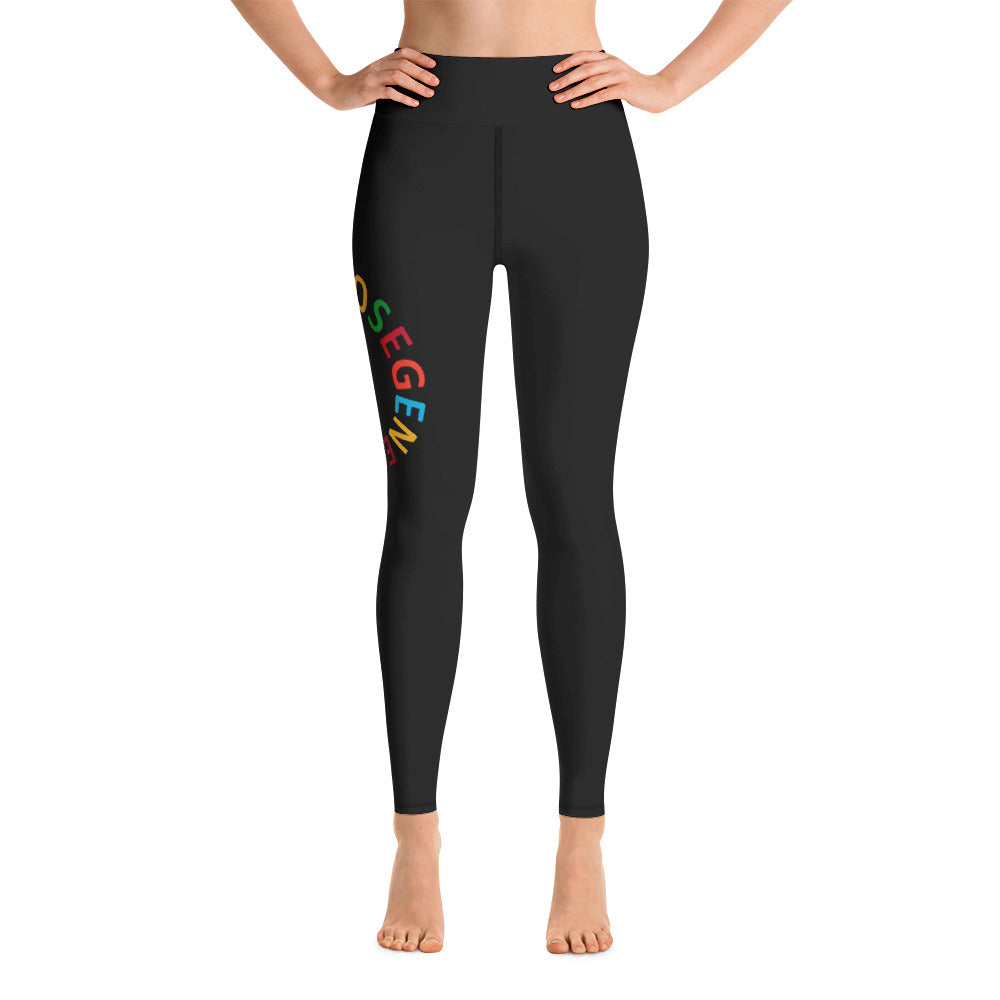 Purpose Generation United Nations Sustainable Development Goals Yoga Leggings