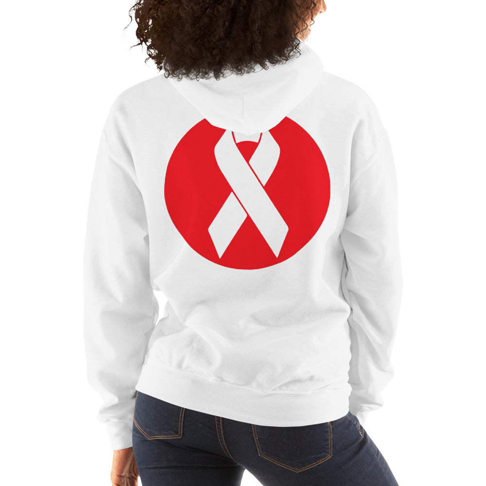 Beat Cancer Hooded Sweatshirt Women's