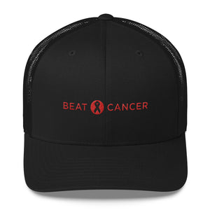 Beat Cancer Trucker Cap