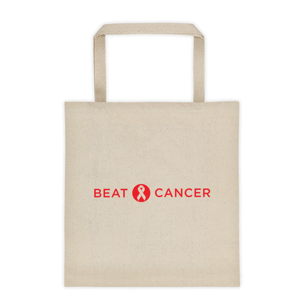 Beat Cancer Tote bag