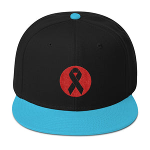 Beat Cancer Snapback Hat