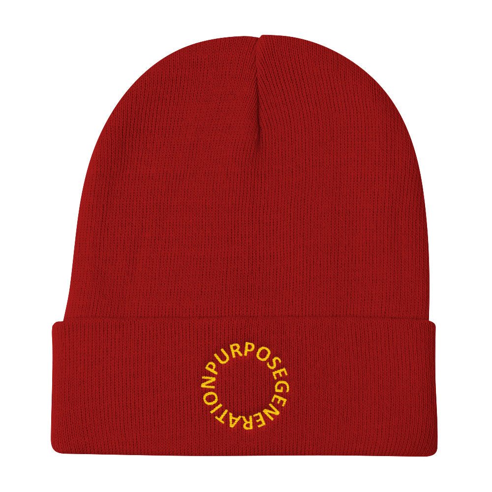 Purpose Generation Knit Beanie