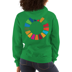 Purpose Generation United Nations Sustainable Development Goals Hooded Sweatshirt Women's