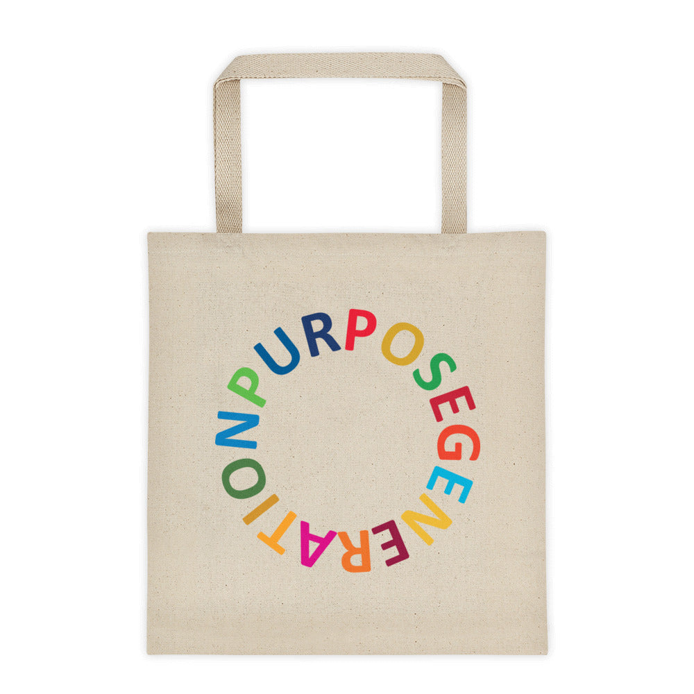 Purpose Generation United Nations Sustainable Development Goals Tote bag