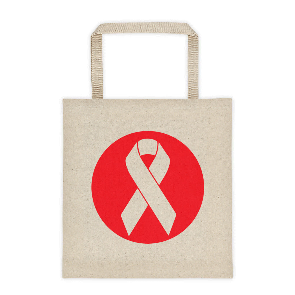 Beat Cancer Logo Tote Bag
