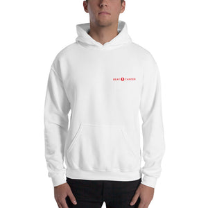 Beat Cancer Hooded Sweatshirt Men's (Print)