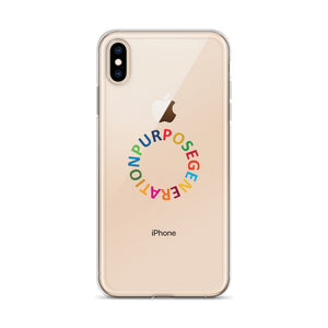 Purpose Generation United Nations Sustainable Development Goals iPhone Case