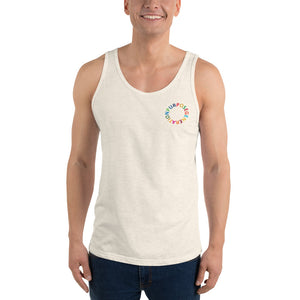 Purpose Generation United Nations Sustainable Development Goals Unisex  Tank Top