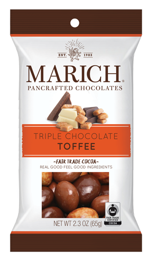 Single-serve Triple Chocolate Toffee (SS#2764)