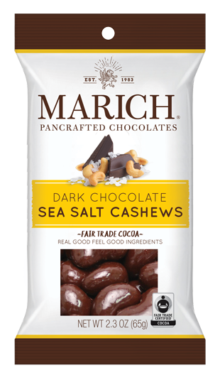Single-serve Dark Chocolate Sea Salt Cashews (SS#2804)