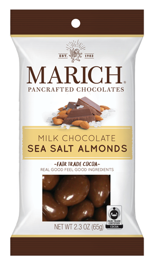 Single-serve Milk Chocolate Sea Salt Almonds (SS#2821)