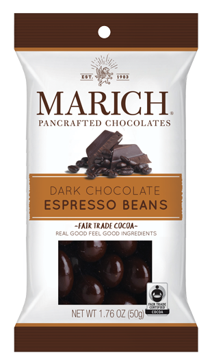 Single-serve Dark Chocolate - Expresso Beans (SS#2952)