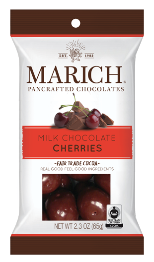 Single-serve Milk Chocolate - Cherries (SS#2957)
