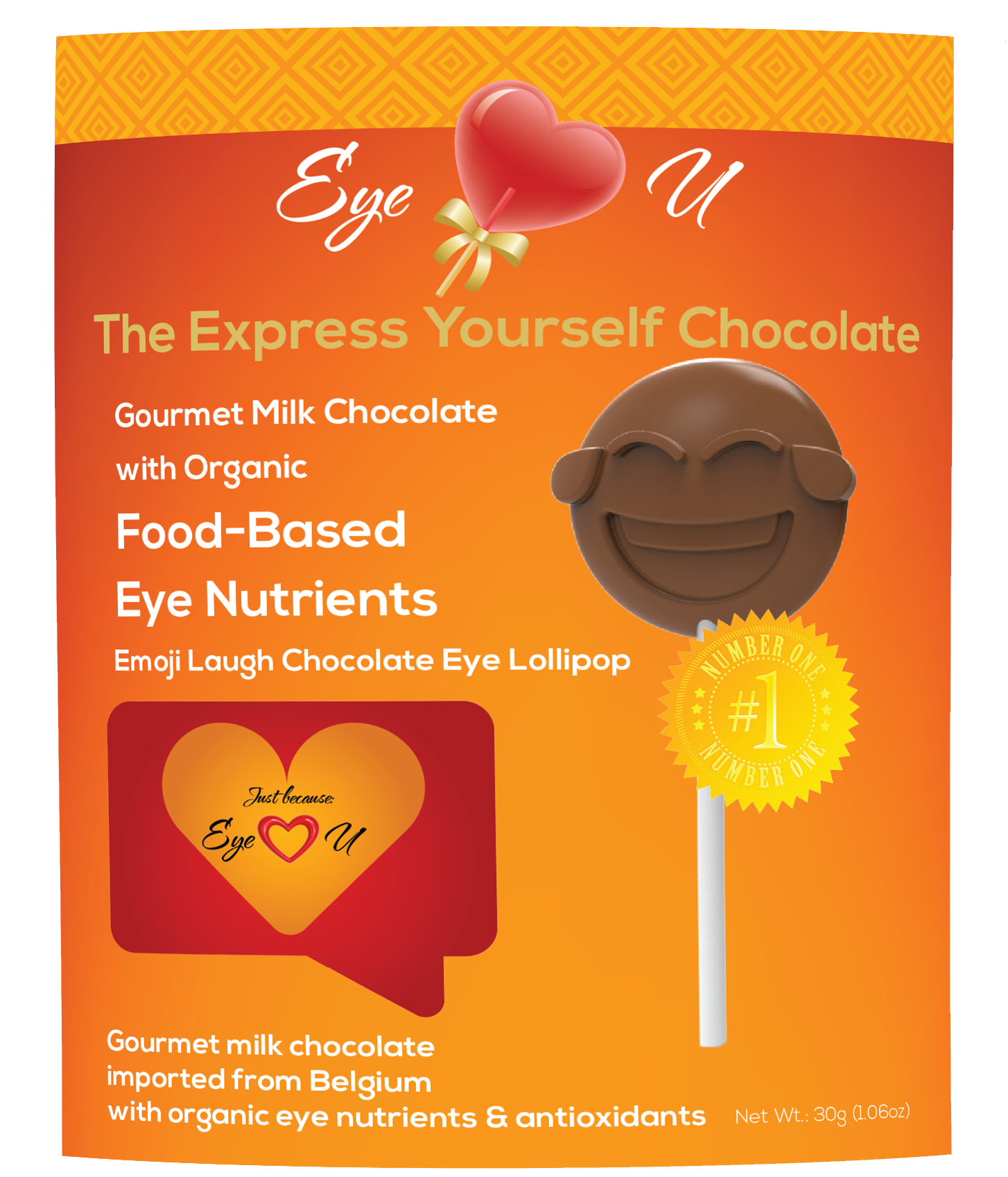 Milk Chocolate - Emoji Laugh (12 packs)