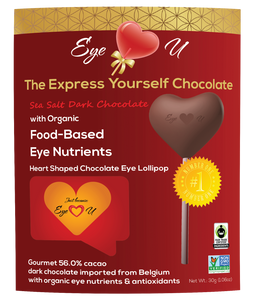Sea Salt Dark Chocolate - Heart Shaped (12 packs)