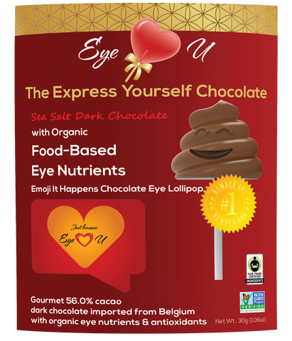 Sea Salt Dark Chocolate - Emoji It Happens (12 packs)