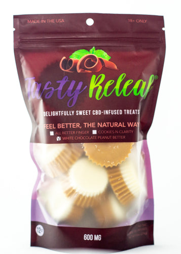 12ct- 50mg CBD Infused Treats