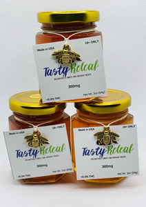 3oz-300mg CBD Infused Florida Honey