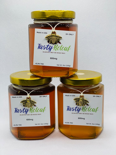 6oz-600mg CBD Infused Florida Honey