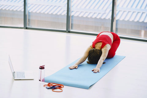 Yoga Mat and Resistance Bands