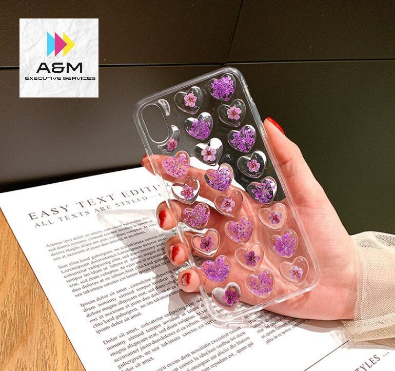 Phone Case For iPhone 6 7 Cute 3D Love Heart Glitter Bling Soft Back Cover For iPhone 6 6S Plus 7 8 X XR Xs Max Cover - A&M Executive Services LLC