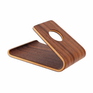 Universal Wooden Bamboo Mobile Phone Stand Holder Lightweight Slim Cellphones Stands for iPhone - A&M Executive Services LLC