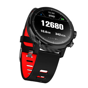 L5  Ip68 waterproof smartwatch support APP download smartwatch increditable 1 week battery life standby for 100 days - A&M Executive Services LLC