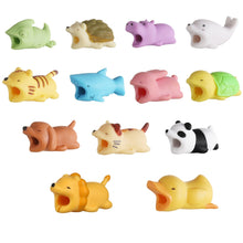 Load image into Gallery viewer, Cable Protector for iPhone Cable Charger USB Cable Winder Holder Accessory Organizer Cute Animal Doll Model Funny - A&M Executive Services LLC